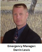 Emergency Manager Darrin Lewis